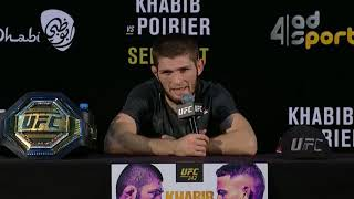 Download UFC 242: Post-fight Press Conference Highlights Video