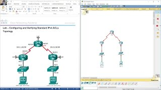 Download 7.2.2.6 Lab - Configuring and Modifying Standard IPv4 ACLs Video
