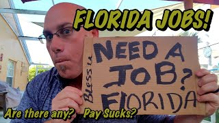 Download FLORIDA JOBS! Are there any? Pay sucks? Video