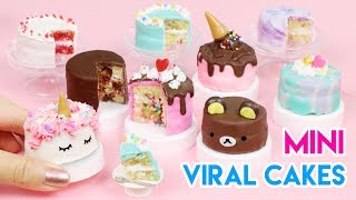 Download How to Make Mini Cakes - Popular/Viral Edition! (100% Edible) Video