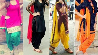 Download Daily wear simple Punjabi suit designs/patiala Salwar with Kurta dupatta ideas/latest suit designs Video