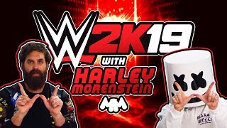 Download Epic Wrestling Time! Challenging Harley Morenstein in WWE 2K19 | Gaming with Marshmello Video