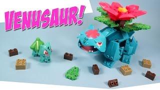 Download Ionix Pokemon Bulbasaur to Mega Venusaur Building Set Video
