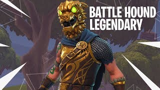 Download LEGENDARY BATTLE HOUND OUTFIT vs SQUADs! - Fortnite: Battle Royale DUO vs SQUADs! (#124) Video