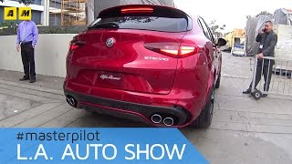 Download Alfa Romeo Stelvio | live @Los Angeles Auto Show 2016 [ENGLISH SUB] Video