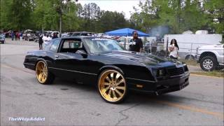 Download WhipAddict: Chevrolet Monte Carlo SS LSX on Gold Forgiato Inferno 24s, by In & Out Customs Video