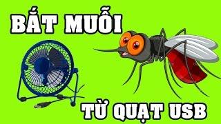 Download Máy bắt muỗi tự động với chai nhựa và quạt USB vừa mát vừa bắt được muỗi - sáng tạo hay cho SV Video
