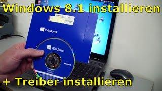 Download Windows 8.1 optimal installieren, aktivieren und unbekannte Treiber finden und installieren. Video