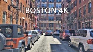 Download Driving Downtown - Boston 4K - USA Video