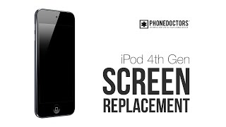 Download iPod Touch 4th Generation Screen Replacement Tutorial by PHONEDOCTORS Video