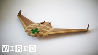 Download This Drone is Designed to Save Lives Then Disappear | WIRED Video
