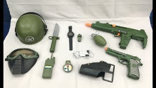 Download Toy guns set | military equipment toys Special Force Combat Video