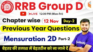 Download 12:30 PM - RRB Group D 2019 | Maths by Sahil Sir | Mensuration 2D (Part-2) Video