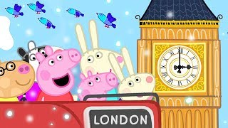 Download Peppa Pig English Episodes | Christmas in London 🇬🇧 | Peppa Pig Official | 4K Video