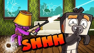 Download Minecraft | Quiet Hide and Seek Challenge!! (SHH!!! He Can Only Hear!) Video