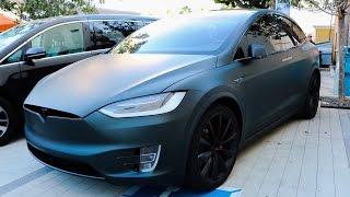Download Jeffree Stars Murdered out Tesla Model X!! Video