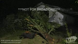 Download 6-21-17 Horn Hill, Alabama Tornado Damage - Tropical Storm Cindy Video