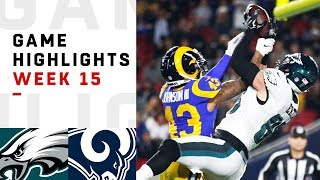 Download Eagles vs. Rams Week 15 Highlights | NFL 2018 Video