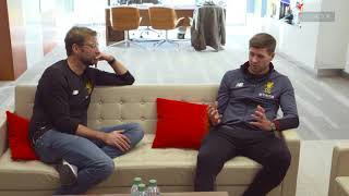 Download Interview with Jürgen Klopp and Steven Gerrard  This Is Melwood Video