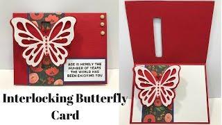 Download Interlocking Butterfly Card Video