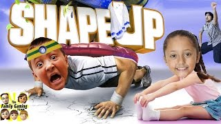 Download The FGTEEV WORKOUT! (Shape Up Challenge w/ Skylander Boy and Girl) Xbox One Face Cam Gameplay Video