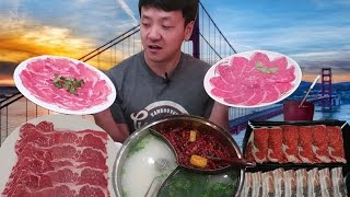 Download All You Can Eat HOTPOT Buffet Tour of San Francisco! Video