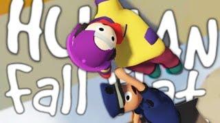 Download HILARIOUS HUMANS FALLING   Human Fall Flat w/Robin #1 Video