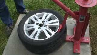 Download Harbor Freight Tire Changer Pittsburgh Automotive Balancer Mojolever Tire Tool Video