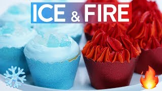 Download GAME OF THRONES ICE & FIRE CUPCAKES - NERDY NUMMIES Video