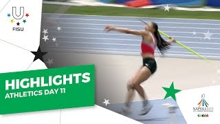 Download Highlights Day 11 I Athletics Field #Napoli2019 Video
