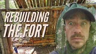 Download REBUILDING THE FORT and Dealing with BUGS! Video