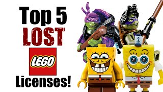 Download Top 5 Lost LEGO Licenses! Video