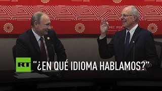 Download Putin y Kuczynski protagonizan un divertido diálogo Video