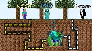 Download Minecraft Battle: NOOB vs PRO vs HACKER: SURVIVAL IN ZOMBIE MAZE in Minecraft MAP! Video