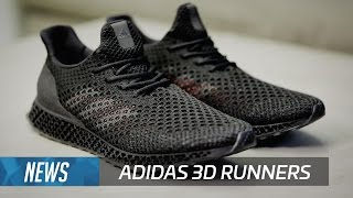 Download Adidas 3D Runners up close Video