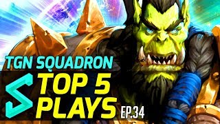 Download TGN Squadron's Top 5 Plays in Heroes of the Storm | Episode 34 Video