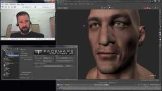 iClone Character Creator TEST - Facial Animation with the AFP