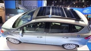 Download Electric Vehicle Car Solar Energy Video