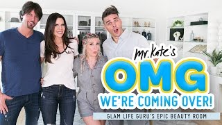 Download Epic Beauty Room Makeover for Tati Westbrook | Glamlifeguru x Mr. Kate | OMG We're Coming Over Video