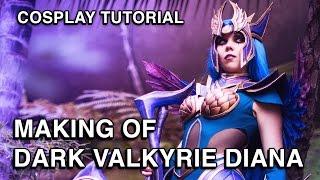 Download Dark Valkyrie Diana - Cosplay Progress - League of Legends Video