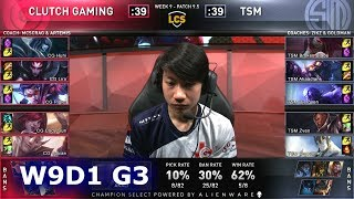 Download TSM vs CG | S9 LCS Spring 2019 Week 9 Day 1 | Clutch Gaming vs TSM W9D1 Video