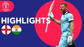 Download Bairstow Leads England To Victory | England vs India - Match Highlights | ICC Cricket World Cup 2019 Video