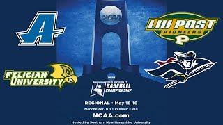 Download If necessary -LIU Post v. SNHU - NCAA East Regional Baseball Championship Video