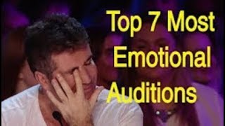 Download I BET YOU WILL CRY... Top 7 Most Emotional Auditions That Made Judges Cry :( Video