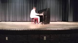 Download Evan McKenzie plays an Undertale Piano Medley- EHS Talent show 2016 Video