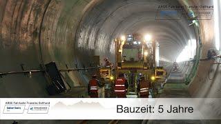 Download Projekt Exzellenz – Feste Fahrbahn im Gotthard Basistunnel Video