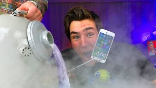 Download LIQUID NITROGREN vs iPhone 7...Bad Idea? Video
