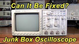 Download Junk Box Oscilloscope, Can It Be Fixed? Video