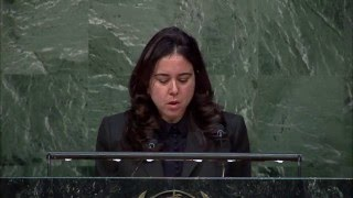 Download UAE Amb. Lana Nusseibeh at UNGA 12 Feb 16 Video
