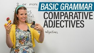 Download English Grammar: Comparative Adjectives Video